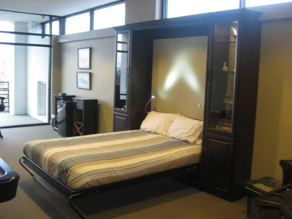 techline furniture, cabinetry and closets, featuring wall beds in